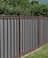 Multi Color Trex Seclusions Brown Grey Fds Fence Distributors