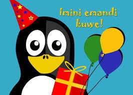 imini emandi kuwe happy birthday in xhosa penguin card ad