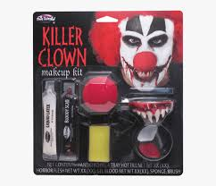 creepy clown makeup kit hd png