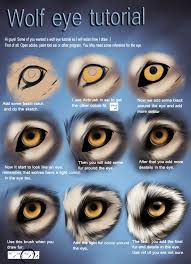 wolf eye tutorial by themysticwolf on