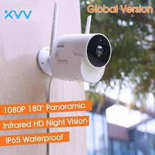 Xiaomi Xiaovv Ngoài Trời Camera Toàn Cảnh 1080P HD Nhà Camera Giám Sát An  Ninh Chống Nước IP Wifi Không Dây Tầm Nhìn Ban Đêm|