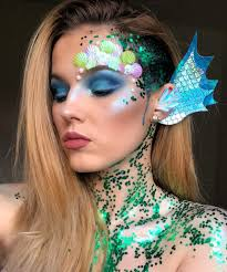 mermaid makeup ideas for a plete