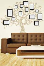 Wall Decals Family Tree 1 Inspirational Mural For Photo Picture Frames Wall Decal Wall Art Sticker Self Adhesive Vinyl Die Cut Walltat Com Art Without Boundaries