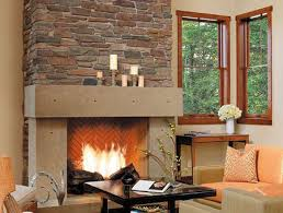 photos of veneer stone fireplace surrounds