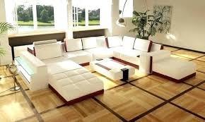 genuine leather sofa set contemporary