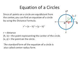 10 8 equations of circles 1 write the