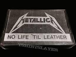 til leather 1982 demo cassette tape