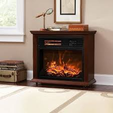 freestanding electric fireplace heater