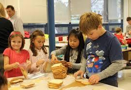 Preparing Sandwiches for Martha's Table