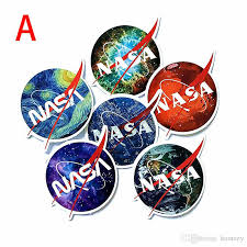 Nasa Space Stickers Vinyl Stickers Laptop Cup Bottle Ps4 Luggage Skateboard Car Trunk Party Favor Stickers Vinyl Decals Movie Canada 2020 From Homezy Cad 1 16 Dhgate Canada