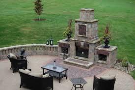 outdoor fireplaces backyard
