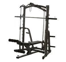 Marcy Smith Machine w/ Lat Pulldown | Home gym design, Smith machine, Gym  design