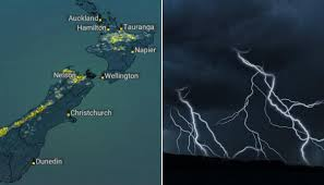Weather: Thunderstorm, lightning risk ...