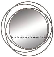 china art wall decorative metal mirror
