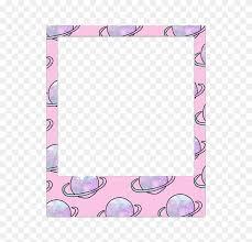 polaroid e pastel frame freetoedit