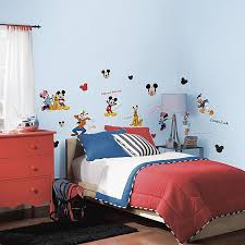 Roommates Mickey Friends Peel Stick Wall Decals Buybuy Baby