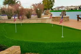 putting green with your new pool