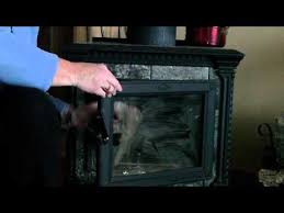 clean fireplace or woodstove glass