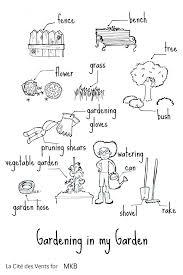 free multilingual gardening printables