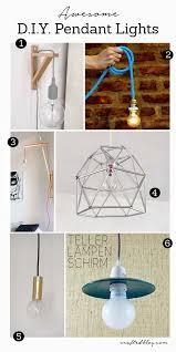 homemade pendant light ideas easy