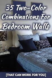 35 two color combinations for bedroom