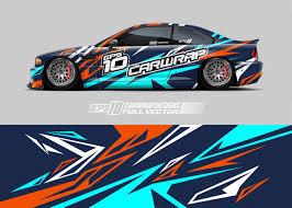 Premium Vector Racing Car Wrap Decal Designs