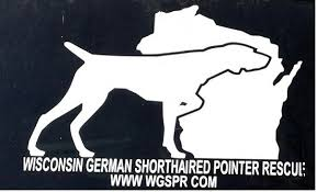 Wgspr Window Decal Wisconsin German Shorthaired Pointer Rescue Inc