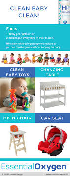 non toxic way to clean baby gear