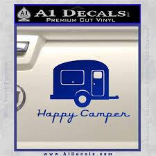 Happy Camper Rv Decal Sticker A1 Decals