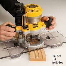 Combination Fluting Jig And Router Edge Guide