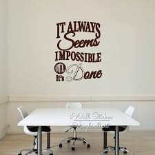 Office Quote Wall Sticker Motivational Quote Wall Decal Removable Inspirational Wall Quotes Cut Vinyl Stickers Q199 Wall Sticker Quote Wall Stickervinyl Stickers Aliexpress