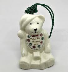 bell ornament belleek