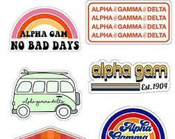 Delta Gamma Sticker Etsy