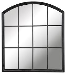 luxe divided light window arch shaped