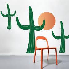 Cactus Wall Decals Desert Wall Decal Murals Primedecals