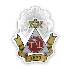 Phi Sigma Kappa Greek Crest Decal University Of Alabama Supply Store