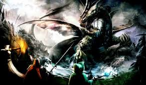 trine dragon battle hd games wallpapers
