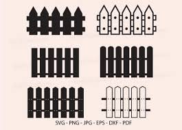 Fence Wooden Fence Fence Clipart Graphic By Redcreations Creative Fabrica