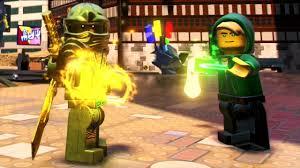 The LEGO Ninjago Movie Video Game - Gold Ninja & Lloyd (Hoodie) Gameplay -  YouTube