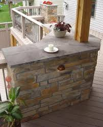 deck counter make one area of the