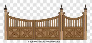 Picket Fence Gate Garden Clip Art Transparent Png