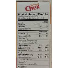 chex wheat cereal 14 ounce box pack of 4