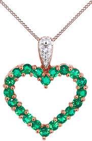 jewel zone us simulated green emerald