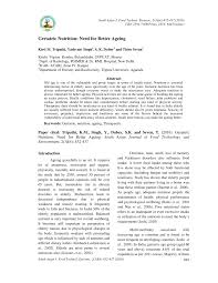 pdf geriatric nutrition need for