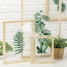 leaf on glass framed wall art apollobox