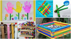 20 Easy Popsicle Stick Crafts Activities For Kids K4 Craft