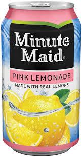 minute maid pink lemonade 12 oz
