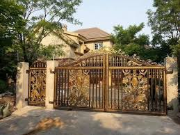 Galvanized Powder Coated Wrought Iron Fence Gate Iron Garden Gate For Sale Cast Iron Gates Manufacturer From China 108701260