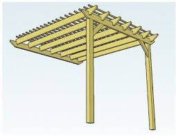 plans to build lean to pergola plans