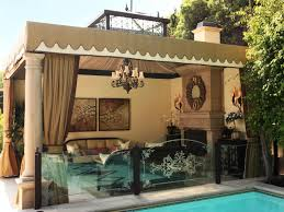 Swimming Pool With Victorian Style Outdoor Living Room Outdoor Living Outdoor Rooms Outdoor Living Space